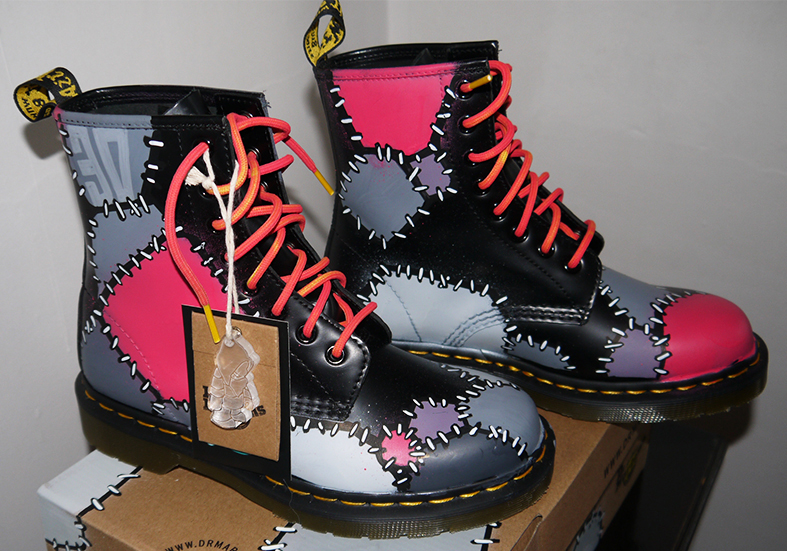 doc martins custom kid30
