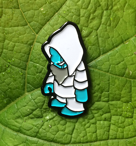 smallkid enamle pin badge